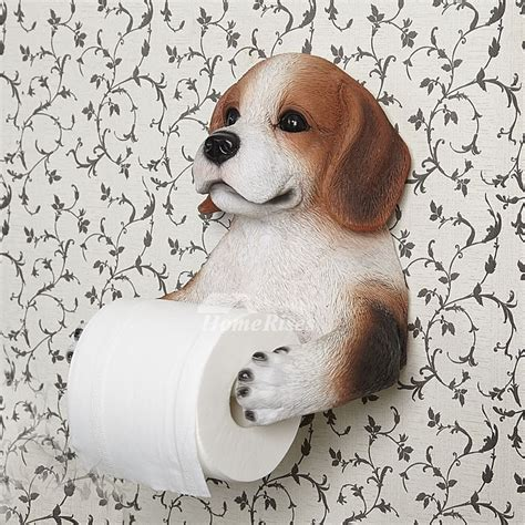 dog toilet paper holder dog toilet paper holder wall mount carved resin