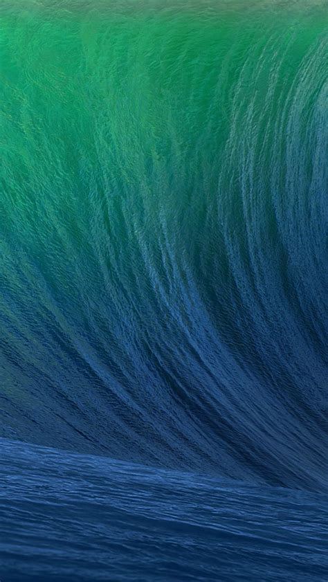 wallpaper iphone 6 wave ios wave the iphone wallpapers