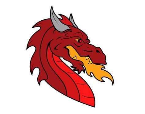 testa di drago disegno testa di drago europeo colorato da utente non