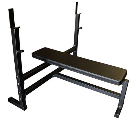 buy bench press set olympic flat weight bench with 300lb olympic weight set ebay