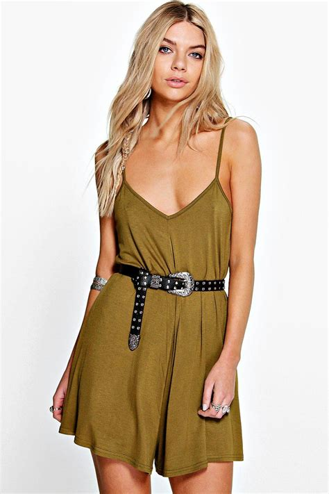 Swing Style by Swing Style Cami Playsuit At Boohoo