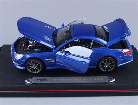 Diecast Blue Mercedes blue maisto 1 18 diecast mercedes sl 63 amg na02t0427 vktoybuy
