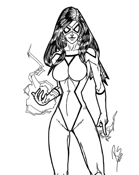 spider woman by wrastor on deviantart