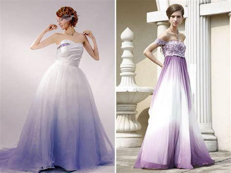 ombre wedding dresses purple ombre wedding dress www pixshark com images