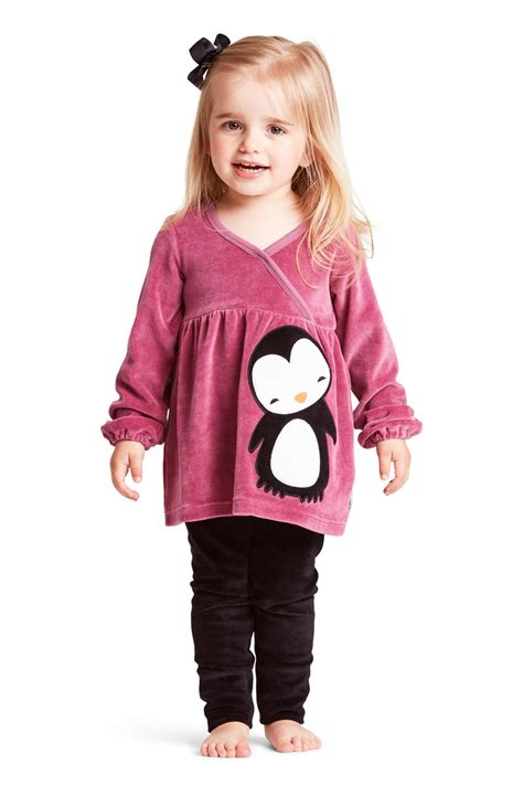 Pinguin Tunic penguin velour tunic me i