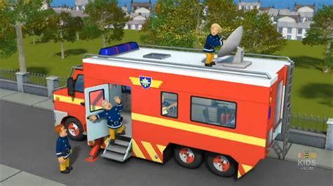 fireman sam boat big w image penny adjusts the mobile control units satellite