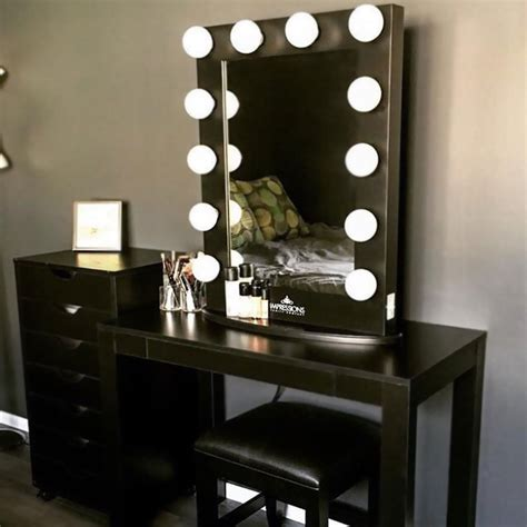 vanity table with lights of makeup vanity table with lights makeupjournal