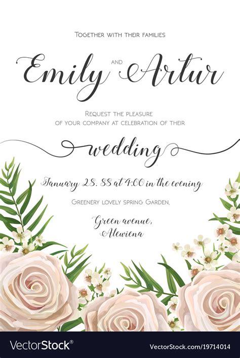 Free Email Wedding Invitation Design