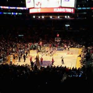 Staples Center Section 215 by Staples Center Section 216 Home Of Los Angeles