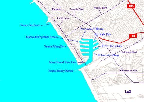 louisiana map beaches los angeles beaches venice