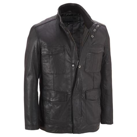 Genuine Leather Jacket mens four pocket genuine leather jacket jacket for mens