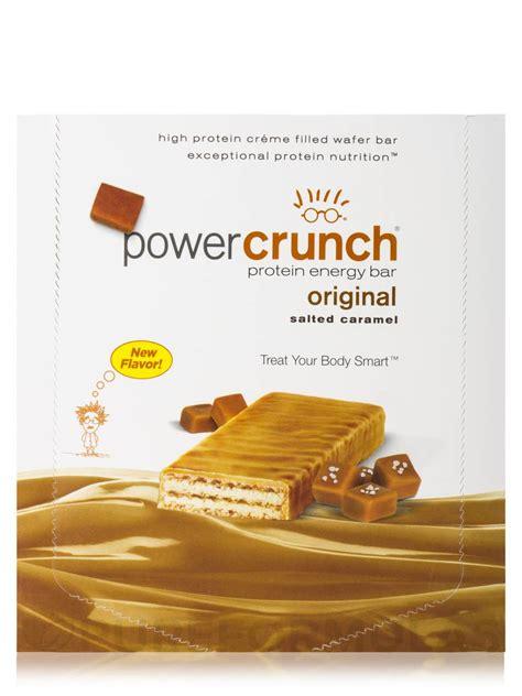 Power Crunch Wafer Protein Snack power crunch original protein energy bar salted caramel