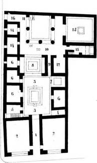 Roman Insula Floor Plan by Architecture At Pompeii