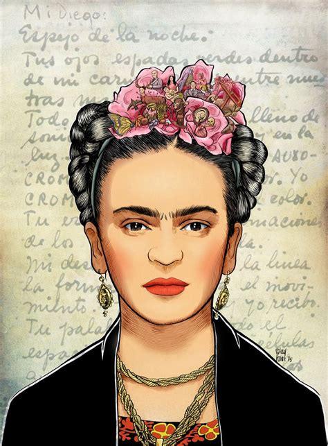 imagenes chidas de frida khalo m 225 s de 25 ideas fant 225 sticas sobre frida kahlo caricatura