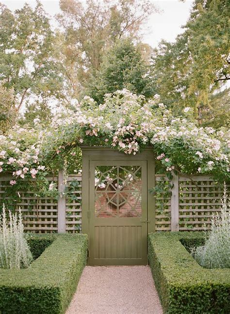 Garden Gate Trellis Garden Gate Inspiration It Lovely