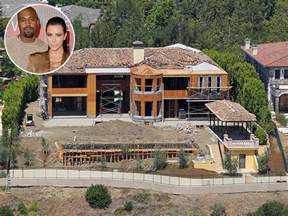 kim kardashian house kim kardashian and kanye west selling bel air mansion for 20 million people com