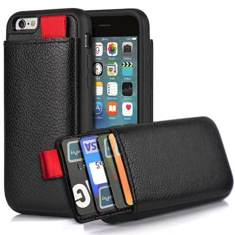 iphone 6 plus 6s wallet lameeku shockproof leather with credit 6926210134646 ebay