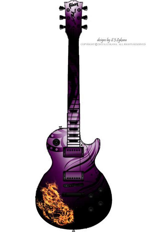 design guitar online 2013 purple phoenix guitar design by sj lykana on deviantart