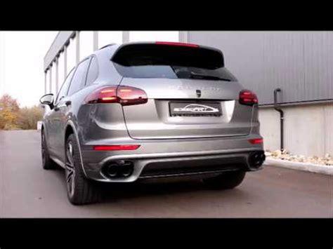 Porsche Cayenne Diesel Sound by Speedart Active Sound System F 252 R For Porsche Cayenne S