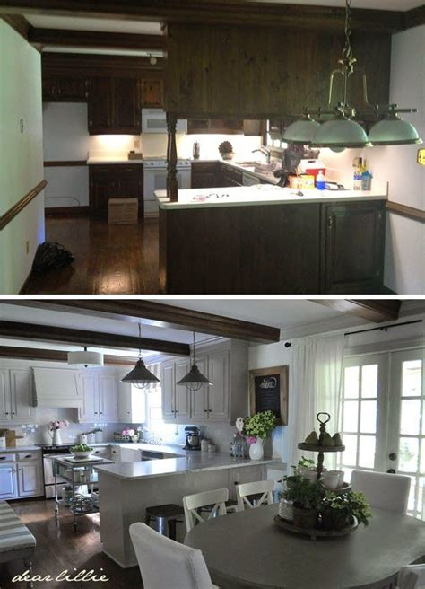 our exciting kitchen makeover before and after cabinets best 25 makeover before and after ideas on pinterest