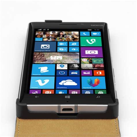 Flip Nokia Lumia 930 caseflex nokia lumia 930 real leather flip black