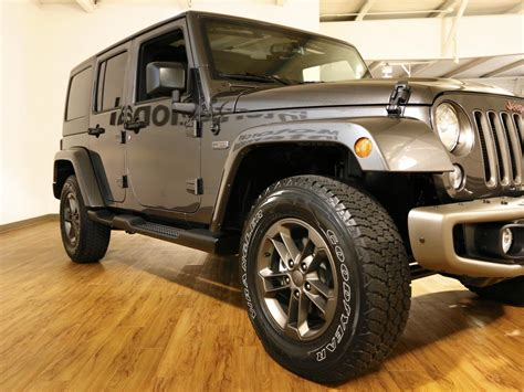 Jeep Wrangler Unlimited Anniversary Edition 2016 Jeep Wrangler Unlimited 4x4 75th Edition