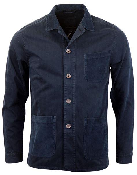 Atasan Jaket realm empire bacton retro mod artisna jacket navy
