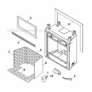 monessen gas fireplace parts monessen bdv400 parts list and diagram ereplacementparts