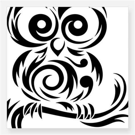 gambar tribal pattern owl tribal owl head www imgkid com the image kid has it