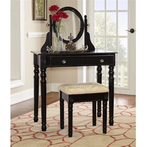 linon home decor vanity set with butterfly bench black 100 linon home decor vanity set with butterfly bench