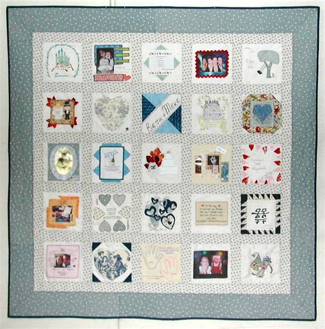 Photo Memory Quilt Ideas by Memory Quilts