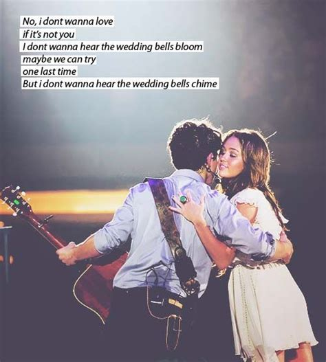 Wedding Bell Jonas Brothers Lyrics by The World S Catalog Of Ideas