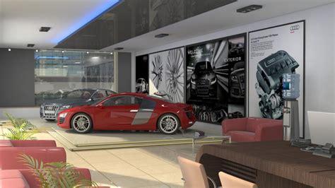 Online 3d Building Design car showroom interior design by jmsd consultant 3d artist