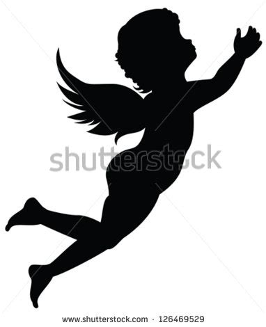 designing silhouettes of angels demo ange banque d images d images et d images vectorielles