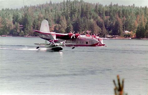 flying boat vancouver island mb goose martin mars at sproat lake near port alberni