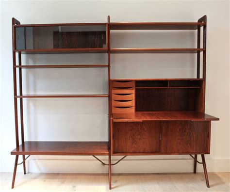 kurt ostervig freestanding rosewood bookshelf at 1stdibs
