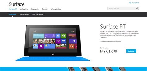 Microsoft Surface Rt Malaysia microsoft mengemaskini harga surface rt kini bermula