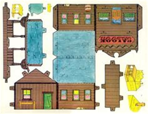 1000 Images About Papercraft Houses - 1000 images about toys paper city on paper