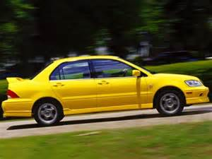 discounted new cars review 2002 mitsubishi lancer o z rally edition