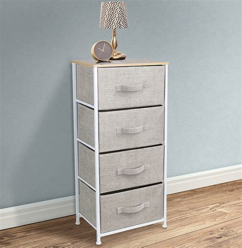 sorbus nightstand chest   drawers bedside furniture