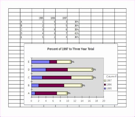 6 Chart Template Excel Exceltemplates Exceltemplates Np Chart Excel Template