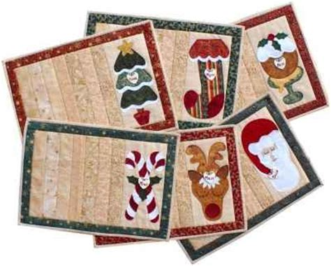 pattern christmas placemats christmas placemats catharinas country collection