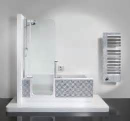 badewanne one bathtub and shower in one unit