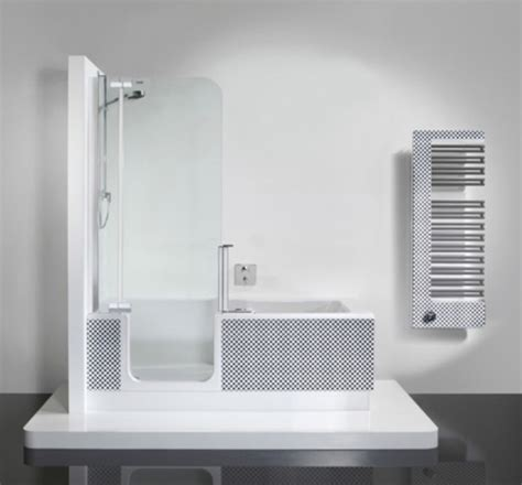 Modern Bath And Shower Combo by Bathtub And Shower In One Unit