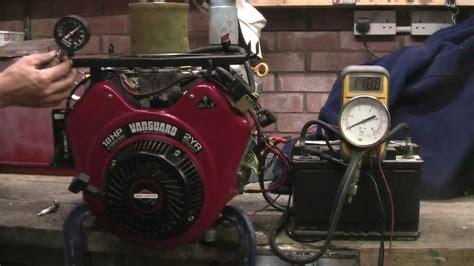 briggs stratton  twin vanguard engine hp oil