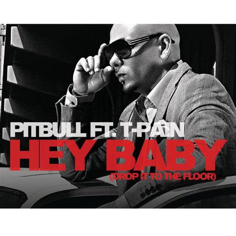 pitbull rapper images hey baby drop it to the floor