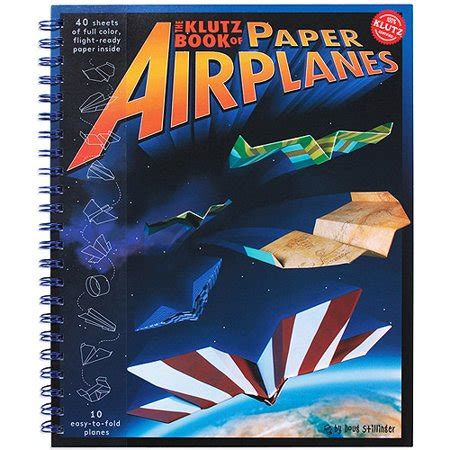 the klutz book of paper airplanes kit walmart com