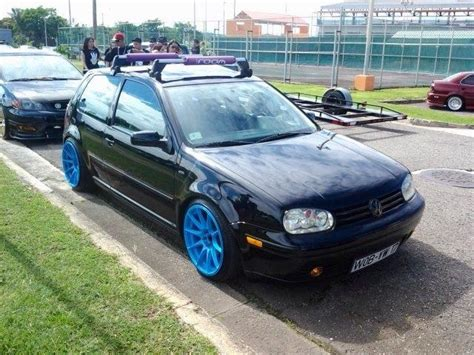 Mk4 Roof Rack by Carlos Gti Rocking Baby Blue18x9 Xxr 531 Coil Overs And
