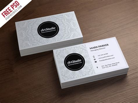 business card psd template white 100 free business cards psd 187 the best of free business cards