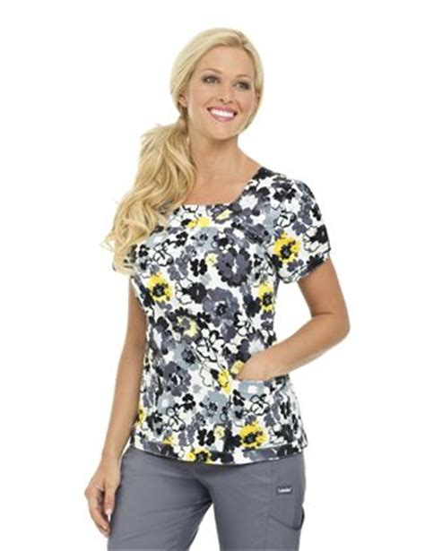 cute pattern scrub tops i like the pattern and fit of the top forever nursing